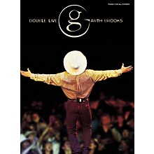 Alfred Garth Brooks - Double Live Piano, Vocal, Guitar Songbook