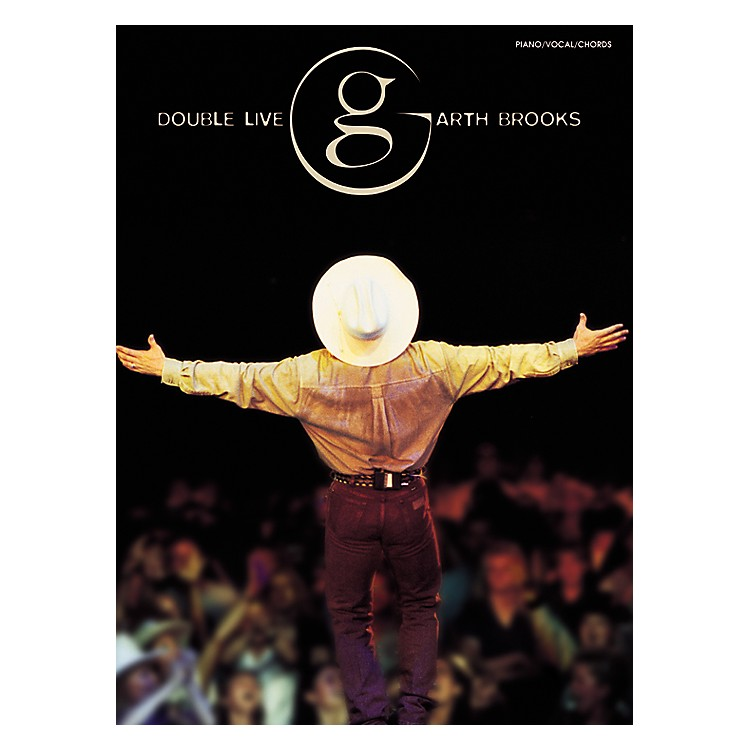AlfredGarth Brooks - Double Live Piano, Vocal, Guitar Songbook