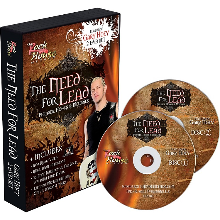 Rock HouseGary Hoey: The Need For Lead Phrases, Hooks &  Melodies DVD