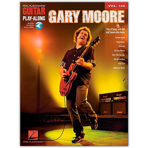 Hal Leonard Gary Moore - Guitar Play-Along Volume 139 (Book/Online Audio)-thumbnail