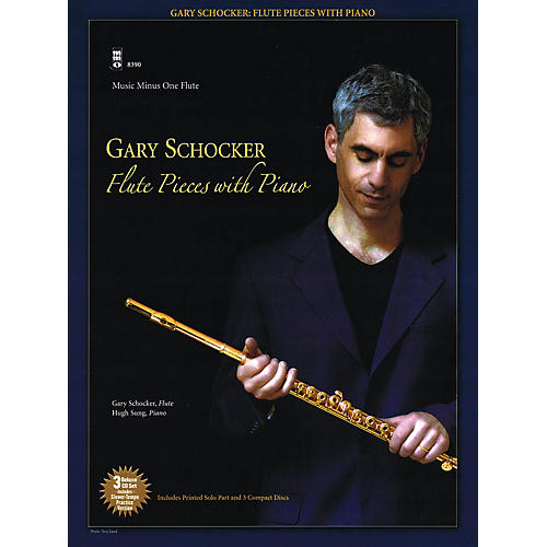 Music Minus One Gary Schocker - Flute Pieces with Piano Music Minus One Series Softcover with CD by Gary Schocker-thumbnail