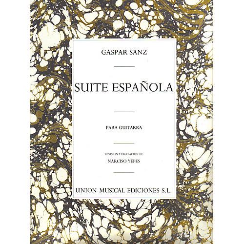 Music Sales Gaspar Sanz: Suite Espanola Music Sales America Series-thumbnail