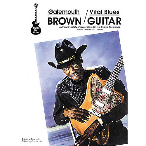 Creative Concepts Gatemouth Brown - Vital Blues Guitar Tab Book-thumbnail