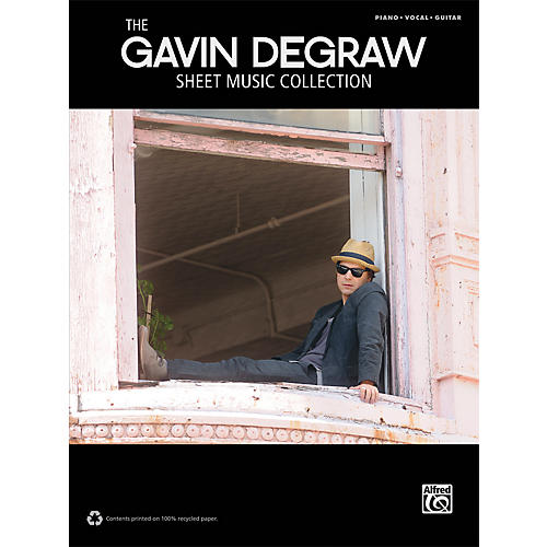 Alfred Gavin DeGraw Sheet Music Collection Piano/Vocal/Guitar Book-thumbnail