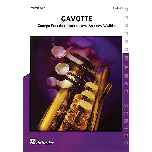 De Haske Music Gavotte Concert Band Gr 1.5 Full Score Concert Band