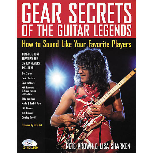 Backbeat Books Gear Secrets of the Guitar Legends (Book/CD)