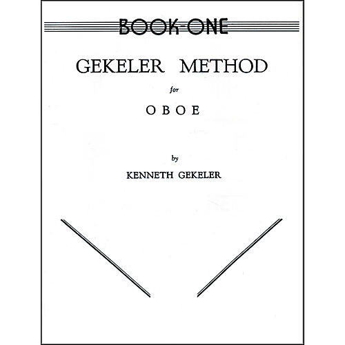 Alfred Gekeler Method for Oboe Book I-thumbnail