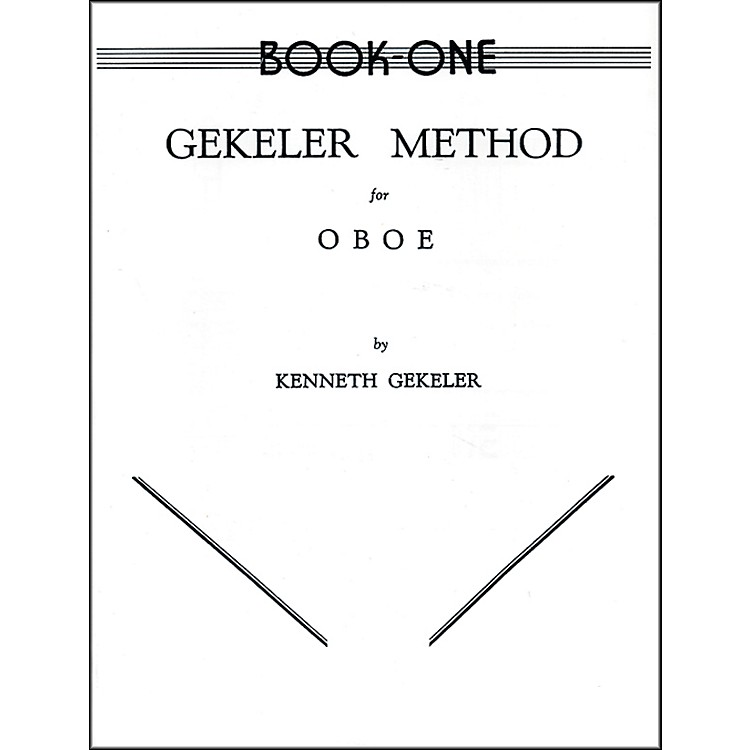 Alfred Gekeler Method for Oboe Book I