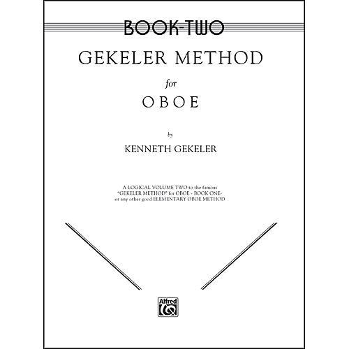 Alfred Gekeler Method for Oboe Book II