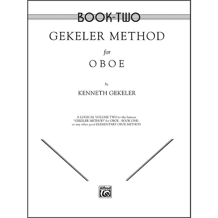 AlfredGekeler Method for Oboe Book II