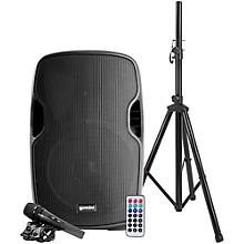Gemini AS-12BLU-PK 12 in. Powered Bluetooth Speaker Package