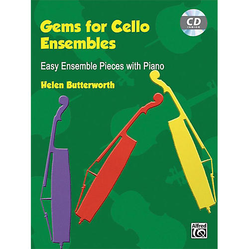Alfred Gems for Cello Ensembles Book & CD