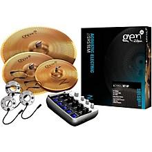 Zildjian Gen16 Buffed Bronze 14/18/20 Acoustic-Electric Cymbal Pack Level 1