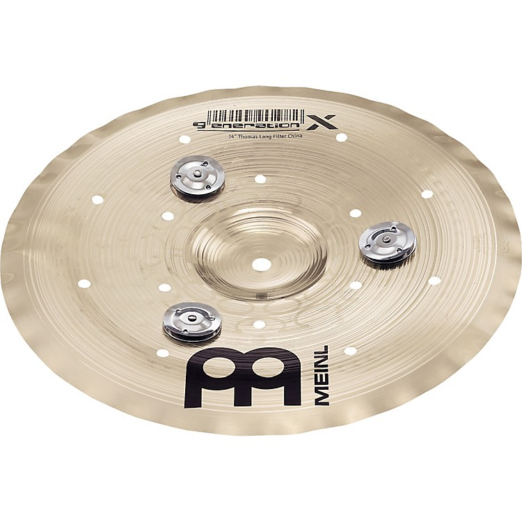 Meinl Generation X Filter China Effects Cymbal with Jingles 14