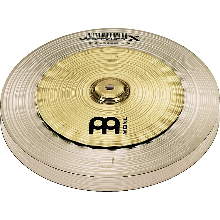 Meinl Generation X Johnny Rabb Safari Hi-Hat Effects Cymbals 12