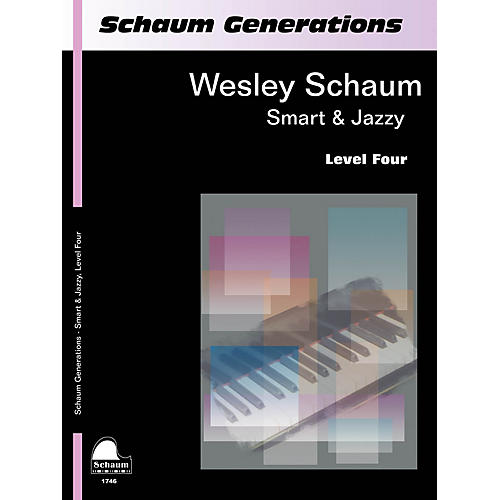 SCHAUM Generations: Smart & Jazzy Educational Piano Book by Wesley Schaum (Level Inter)