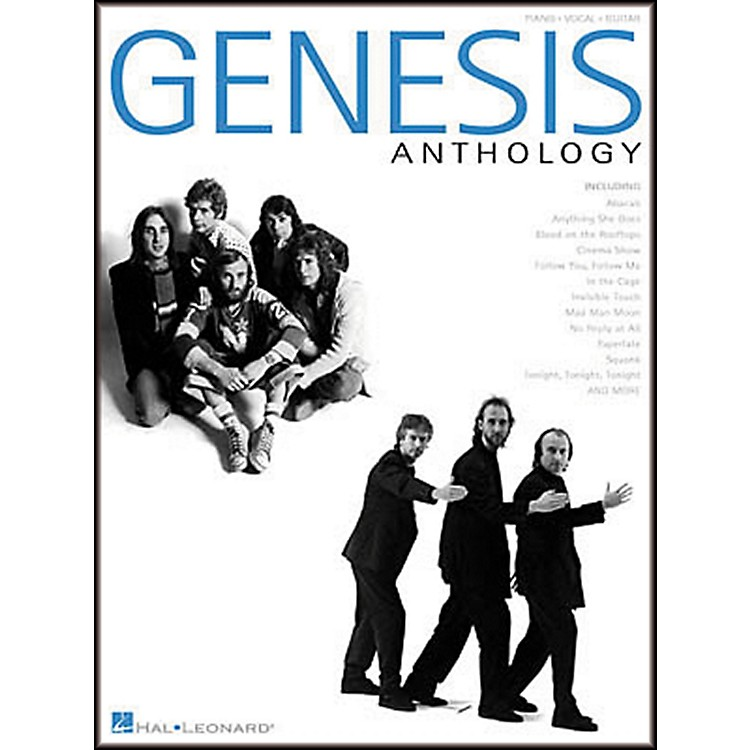 Hal Leonard Genesis Anthology Piano, Vocal, Guitar Songbook