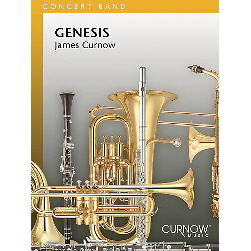 Curnow Music Genesis (Grade 3 - Score Only) Concert Band Level 3 Composed by James Curnow-thumbnail