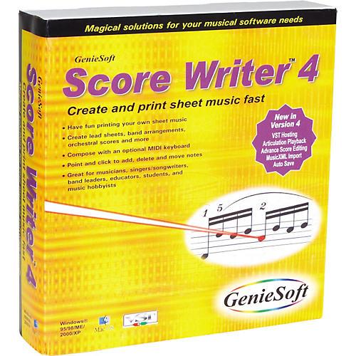 GenieSoft GenieSoft Score Writ Software