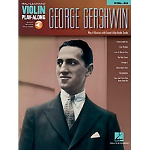 Hal Leonard George Gershwin - Violin Play-Along Volume 63 (Book/Audio Online)
