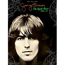 Hal Leonard George Harrison - The Apple Years Piano/Vocal/Guitar