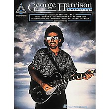 Hal Leonard George Harrison Anthology Guitar Tab Book