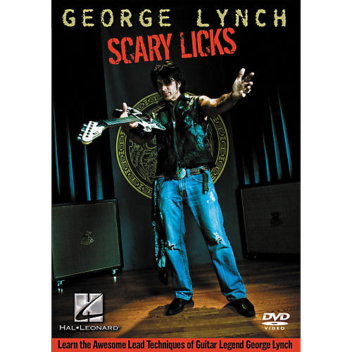 Hal Leonard George Lynch - Scary Licks DVD