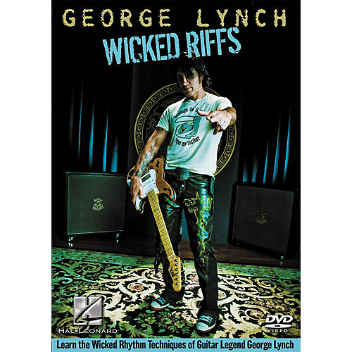 Hal Leonard George Lynch - Wicked Links DVD
