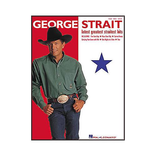 Hal Leonard George Strait - Latest Greatest Straitest Hits Piano/Vocal/Guitar Artist Songbook-thumbnail