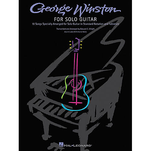 Hal Leonard George Winston for Solo Guitar Tab Songbook