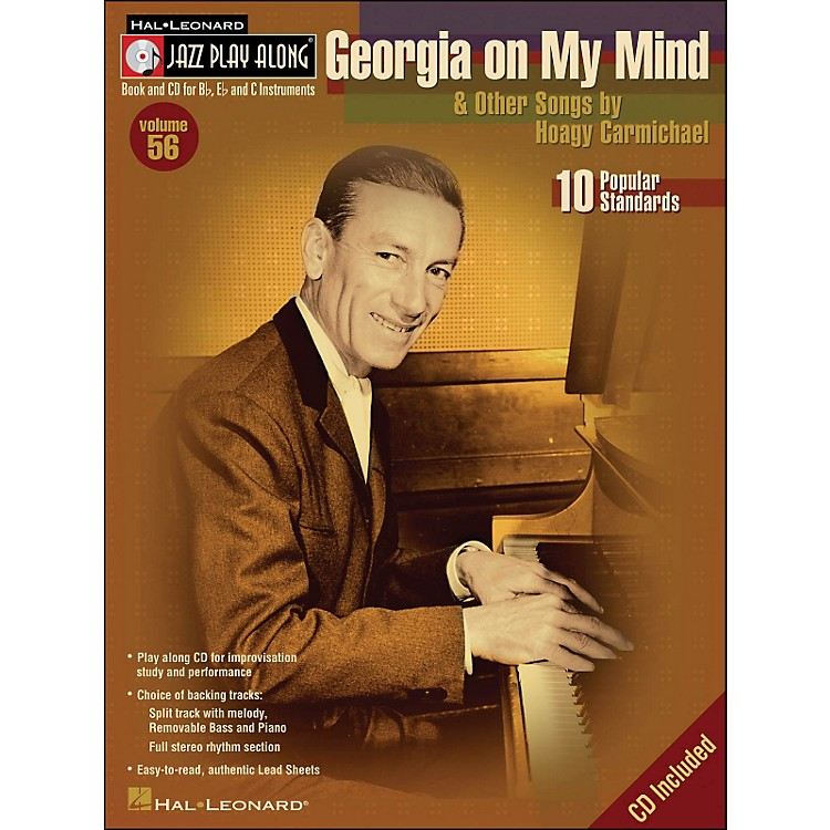 Hal Leonard Georgia On My Mind & Other Songs By Hoagy Carmichael Book/CD Volume 56