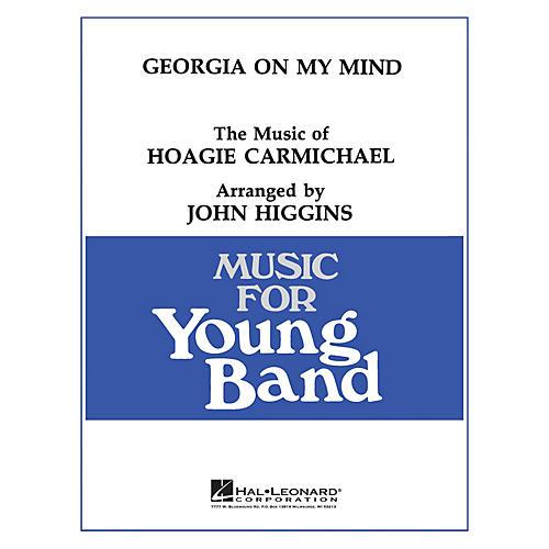 Hal Leonard Georgia on My Mind - Young Concert Band Level 3 by John Higgins