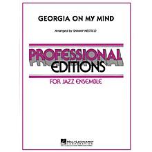 Hal Leonard Georgia on My Mind Jazz Band Level 5 Arranged by Nestico