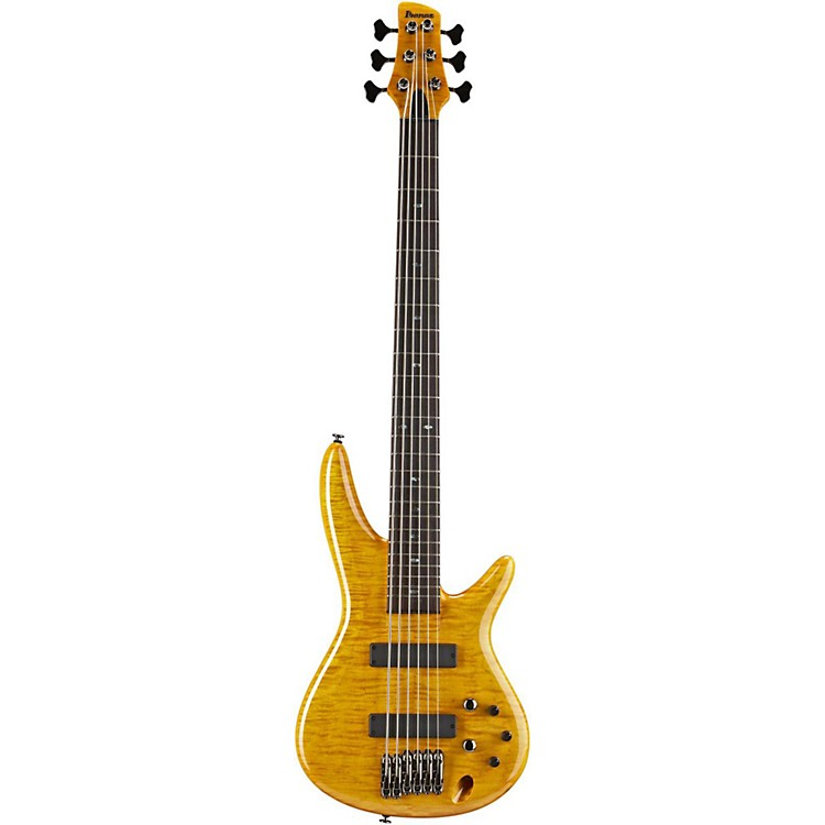 IbanezGerald Veasley Signature 6-String Electric Bass Guitar-Amber