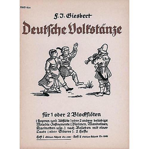 Schott German Folk Dances Vol. 1 Rec Schott Series-thumbnail
