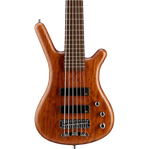 Warwick German Pro Series Corvette Bubinga Active 6-String Electric Bass Guitar