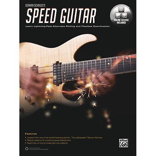 Alfred German Schauss's Speed Guitar Book & Online Audio & Video-thumbnail