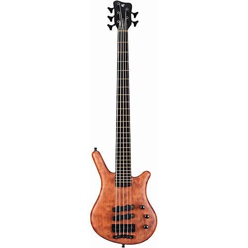 Warwick German Thumb Neck-Thru 5-String Electric Bass Natural Oil