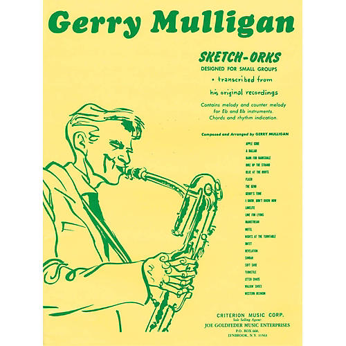 Hal Leonard Gerry Mulligan Sketch-Orks Book 1 For E Flat And B Flat Instruments-thumbnail