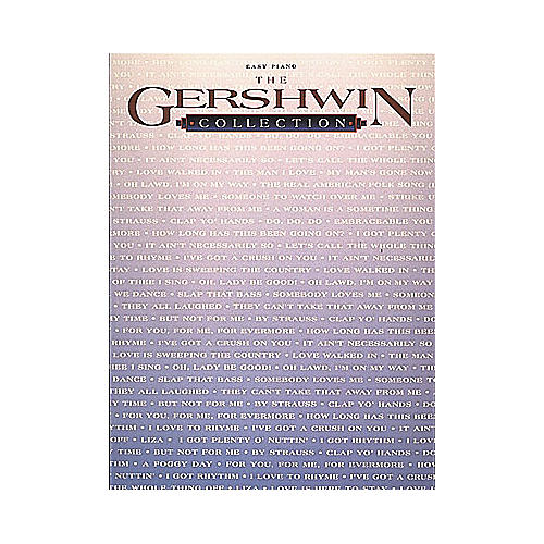Hal Leonard Gershwin Collection For Easy Piano