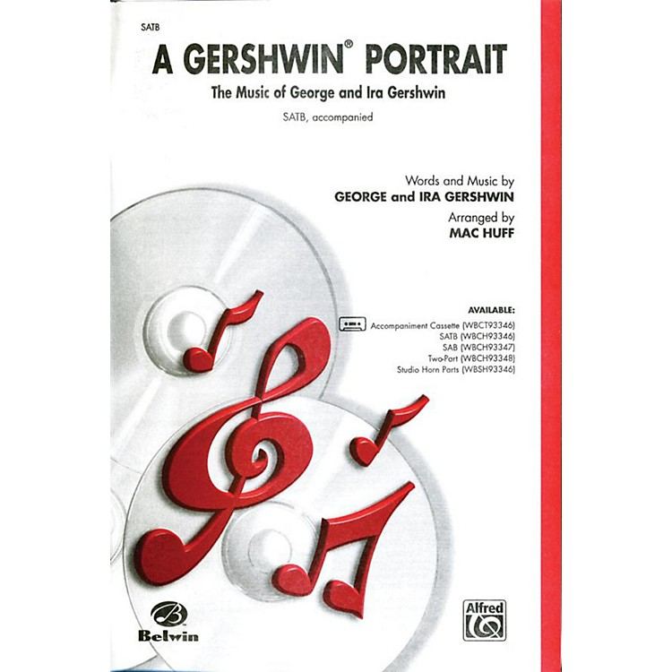 AlfredGershwin Portrait! The Music of George and Ira Gershwin SATB Choral Octavo