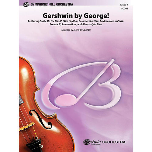 Alfred Gershwin by George Full Orchestra Grade 4-thumbnail
