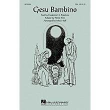 Hal Leonard Gesu Bambino SSA arranged by Mac Huff