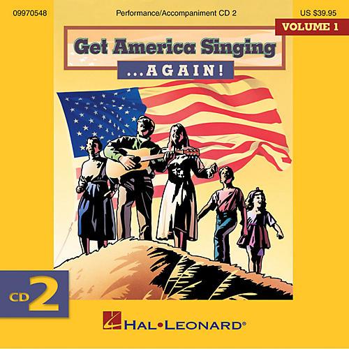 Hal Leonard Get America Singing ... Again! Vol 1 CD Two Volume One CD 2