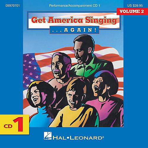 Hal Leonard Get America Singing Again Vol 2 Complete 3-CD Set VOL 2 CD SET Composed by Various-thumbnail