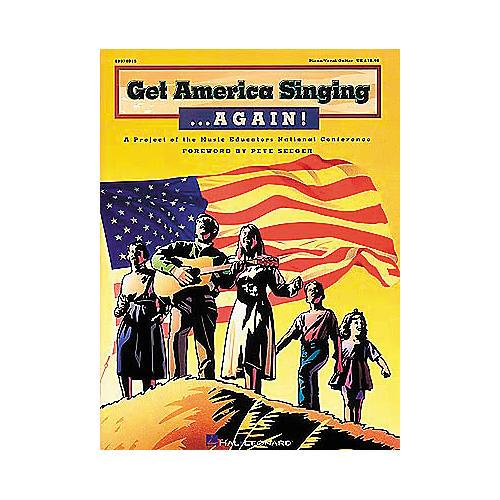 Hal Leonard Get America Singing...Again! - Piano/Vocal/Guitar, Teacher's Edition Songbook