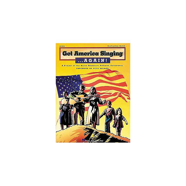 Hal LeonardGet America Singing...Again! - Piano/Vocal/Guitar, Teacher's Edition Songbook