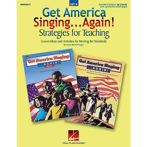 Hal Leonard Get America Singing...Again! Strategies for Teaching (Set B) TEACHER ED Composed by Loretta Norgon-thumbnail