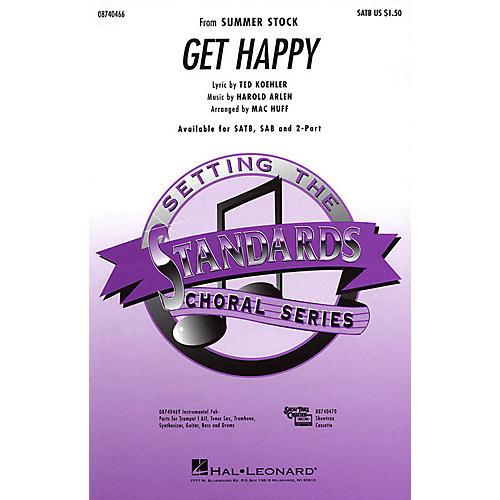 Hal Leonard Get Happy Combo Parts Arranged by Mac Huff