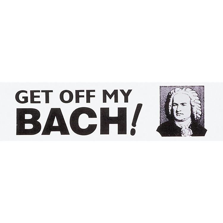 Chesbro Music Co.Get Off My Bach Bumper Sticker